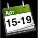 15th - 19th April