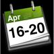 16th - 20th April