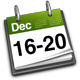 16th - 20th December