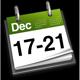 17th - 21st December