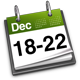 18th - 22nd December