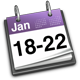 18 - 22 January