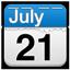 21 July