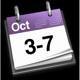 3 - 7 October