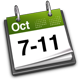 7th - 11th October