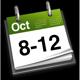 8th - 12th October