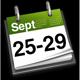 25 - 29th September
