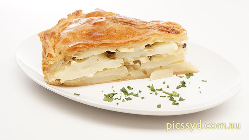 Puff Pastry Potato Tourte