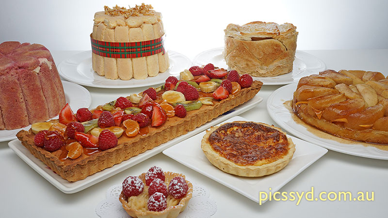 Hot & Cold Charlotte and French Tarts