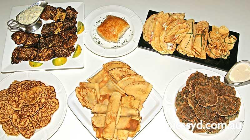 Hot Canapés (menu 1)