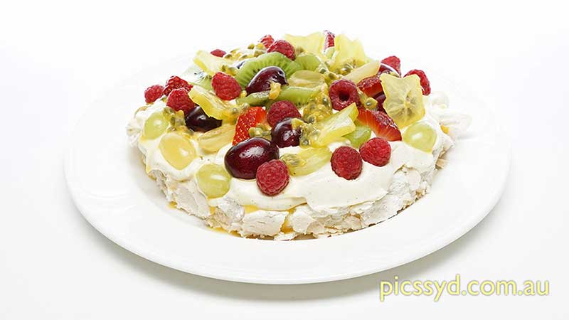 Traditional Fruit Pavlova