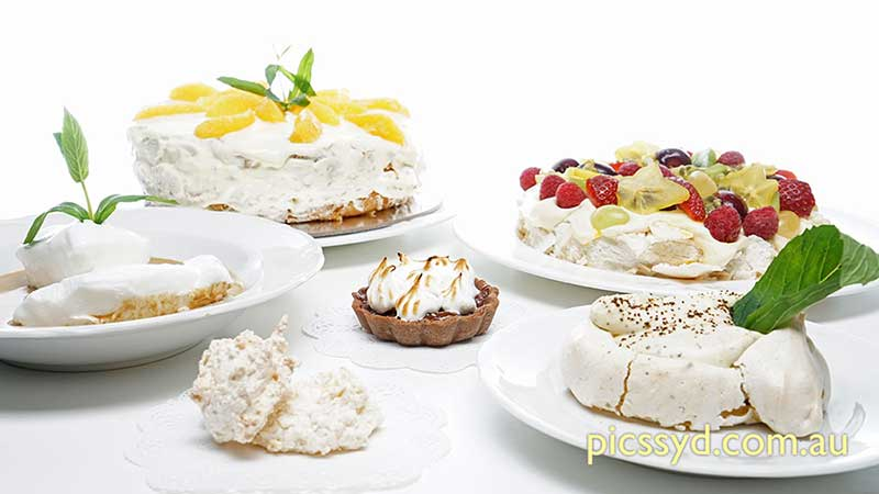 Meringues and Pavlovas