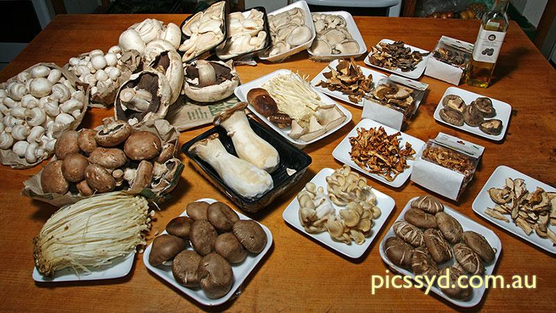 Musroom Cooking (before)