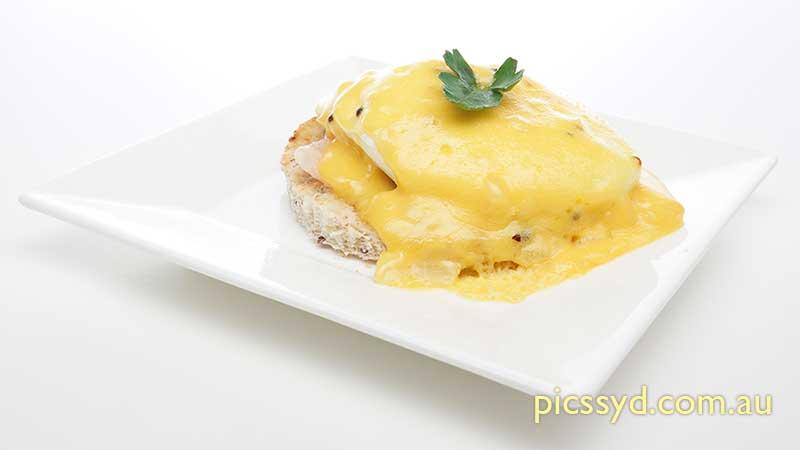 Poached Egg Benedictine Style