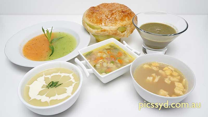 Winter Soup & Consommé Workshop